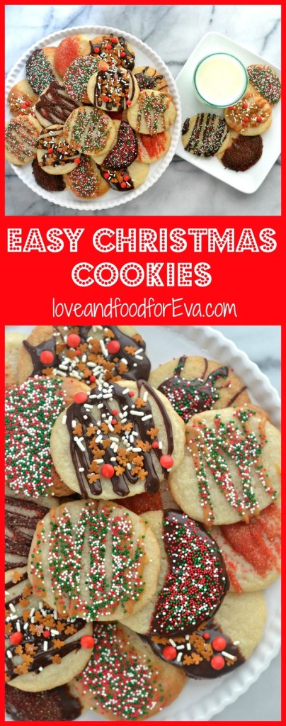 Have some good old fashioned fun decorating Christmas cookies without any of the hard work!