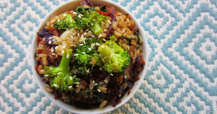 Love and Stir-Fry Veggie Brown Rice