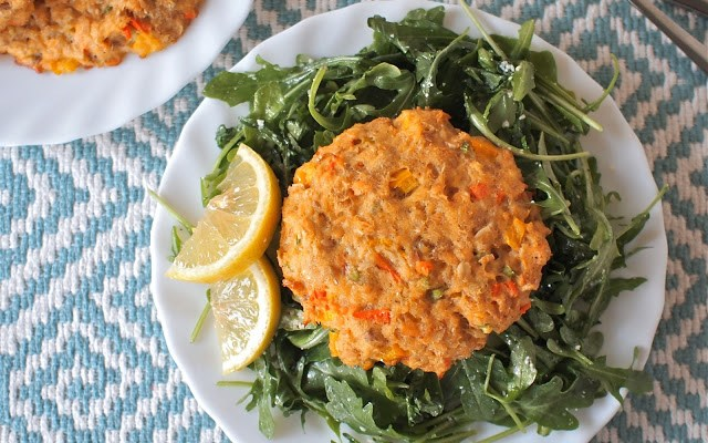 Love and Baked Salmon Burgers