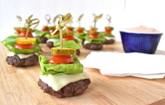 Love and Mini Cheeseburger Bites