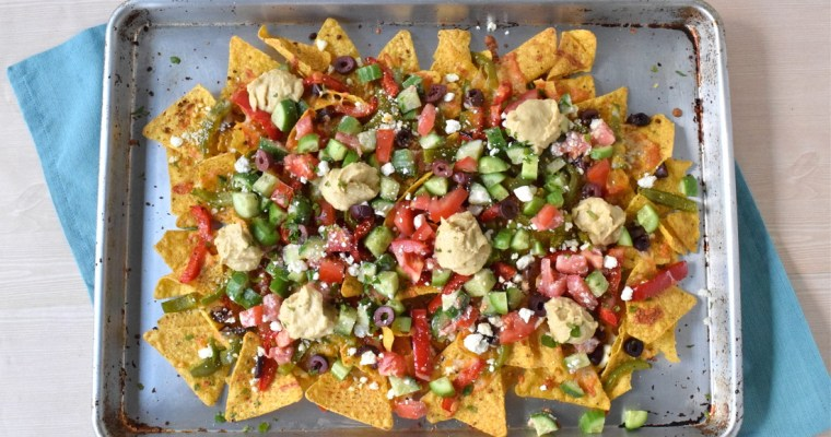 Love and Greek Salad Nachos