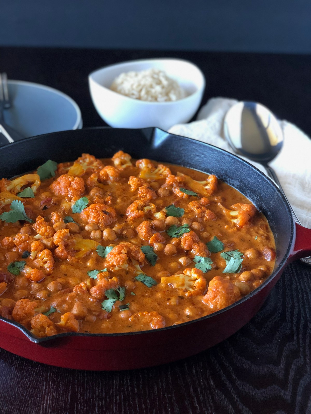 Love&Grub: Chickpea Cauliflower Tikka Masala