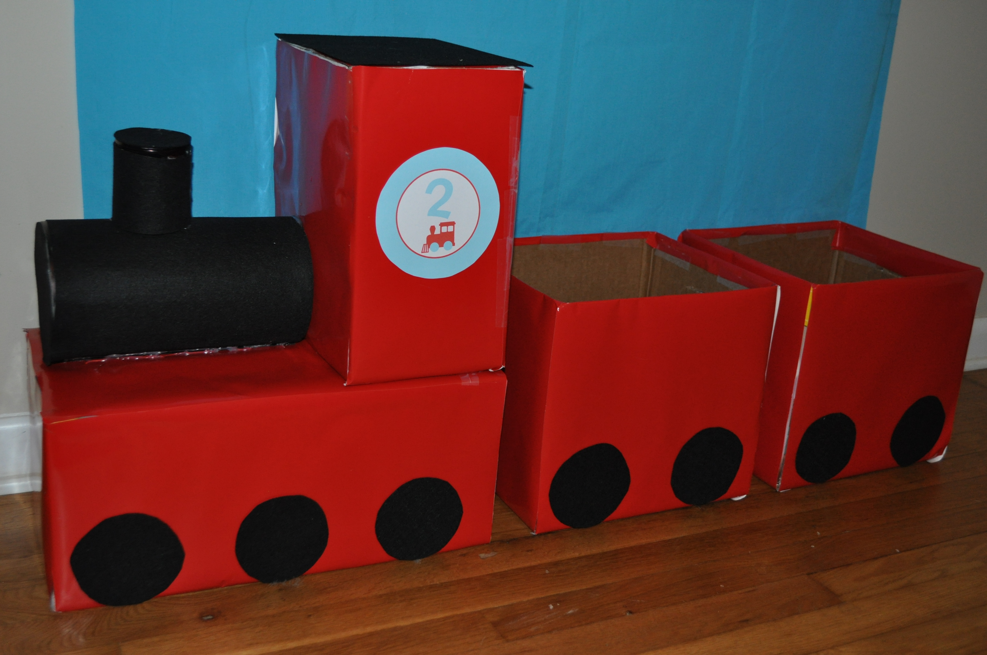 The Making Of Tom S Train Themed 2nd Birthday Party