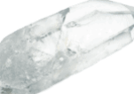 Invisible Quartz Crystal Point