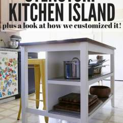 Diy Kitchen Island With Seating Glad Trash Bags Ikea Hack: Stenstorp | Love & Renovations