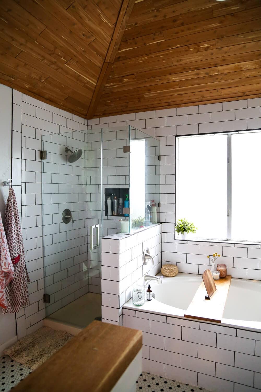 Our DIY Budget Bathroom Renovation  Love  Renovations