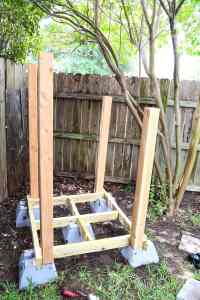 Easy DIY Backyard Playhouse // Love & Renovations