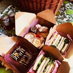 Afternoon tea picnic
