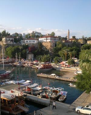 Kaleici, yat liman, Antalya, Turkey