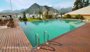 Pool at the harbor of Buyuk liman