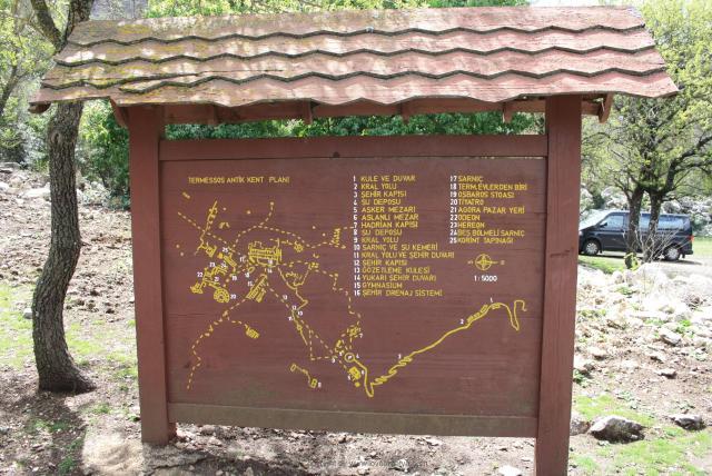 Termessos map