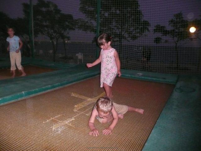 Børn strandpark