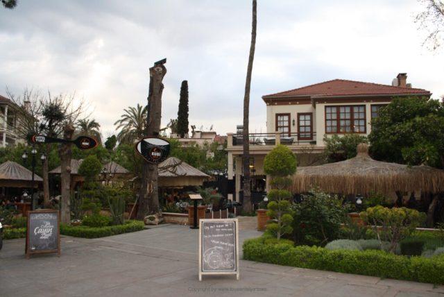 cafe Karaalioglu park