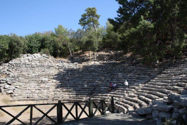 Phaselis teater