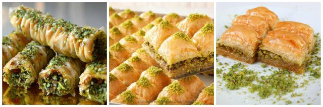 turkih food baklava