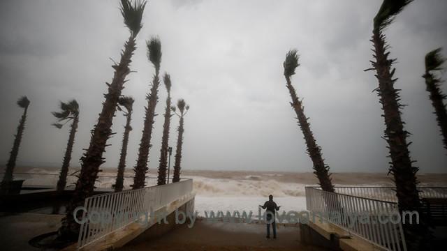 Storm in Antalya