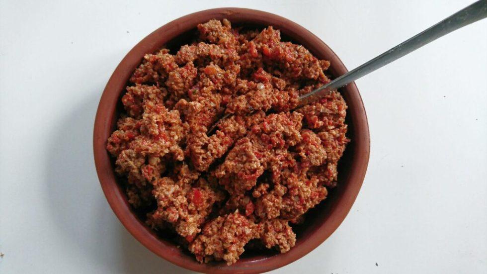 cavizli biber - tyrkisk valnødde-dip