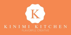 Kinimi Kitchen Flavorful Creative Logo