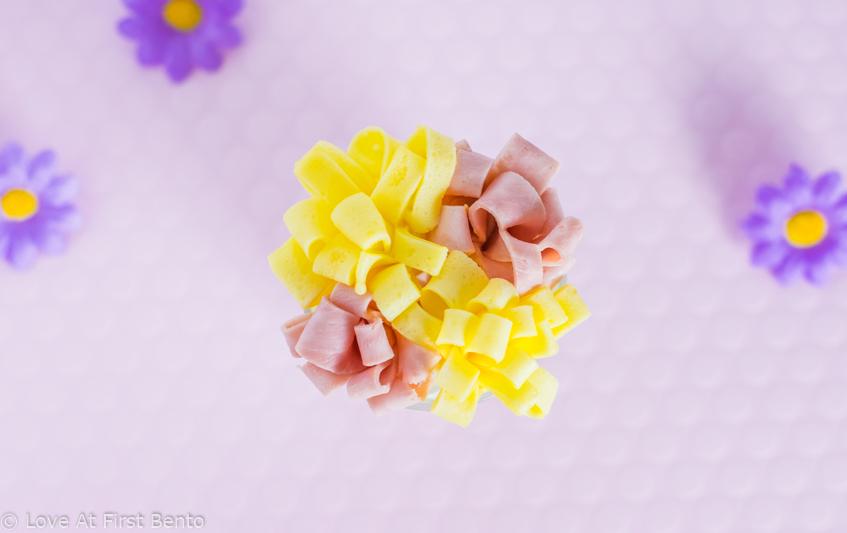 ham egg flowers