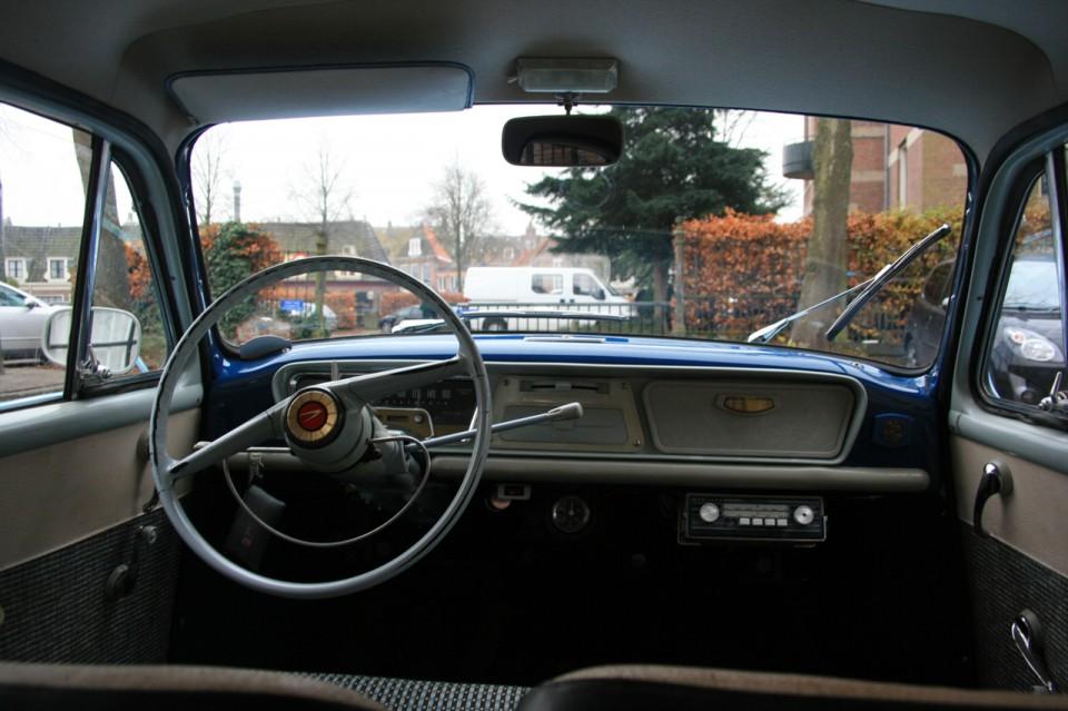 Simca Aronde Etoile P60 Dashboard
