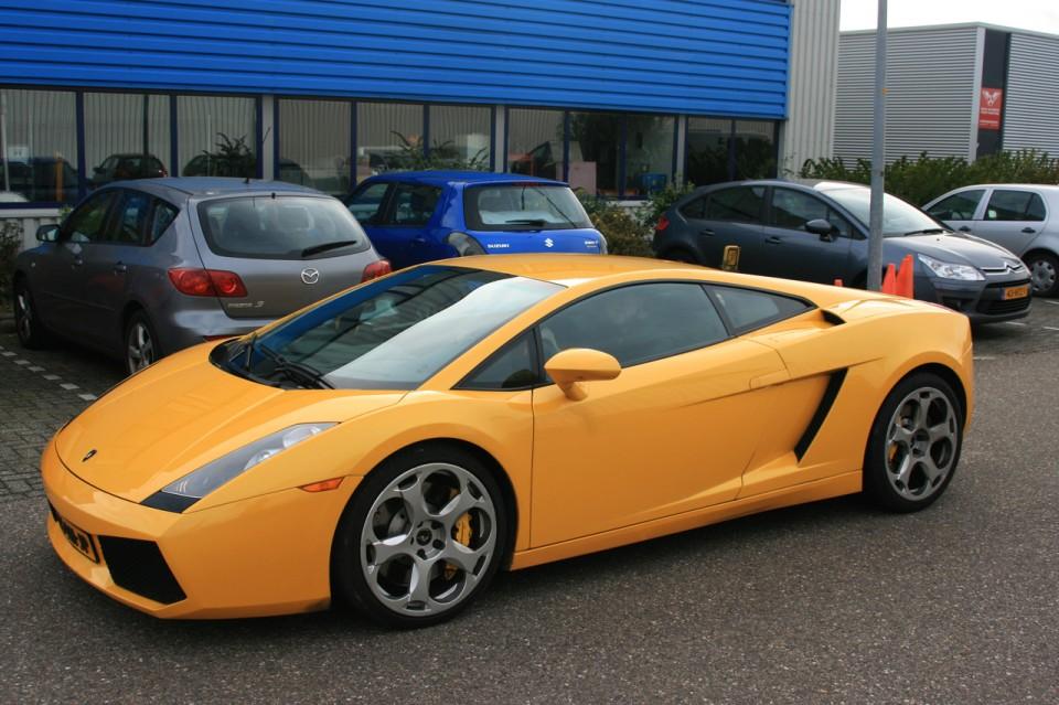 Lamborghini Gallardo Zijkant