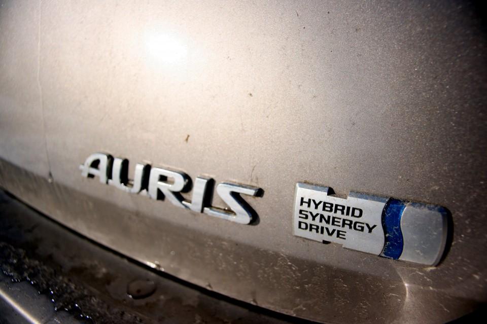 Toyota Auris Hybrid Logo