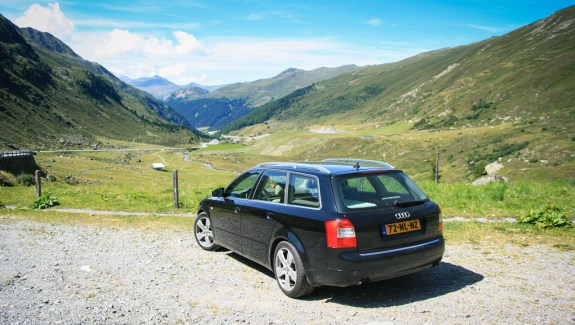 Audi A4 B6 TDI quattro achterkant