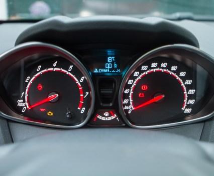 Ford Fiesta ST tellerbak