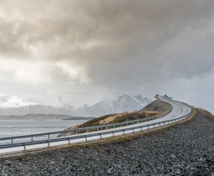 Roadtrip Noordkaap Noorwegen Atlantic Road