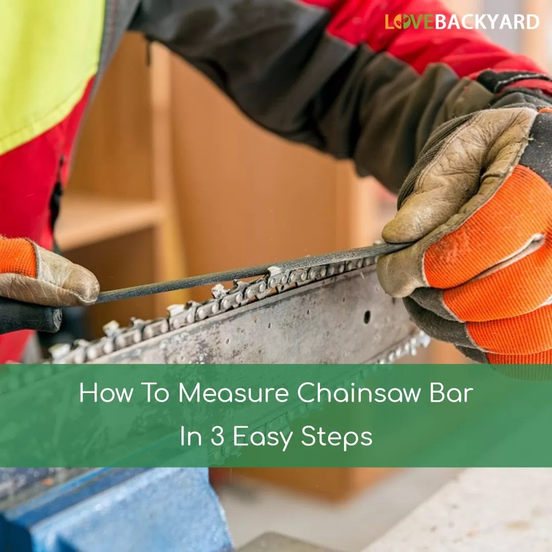 How To Measure Chainsaw Bar In 3 Easy Steps Jun 2019