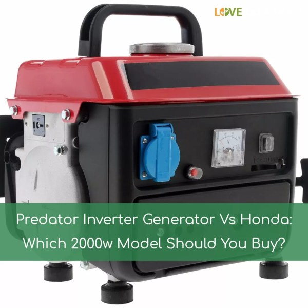 Predator Inverter Generator - Year of Clean Water