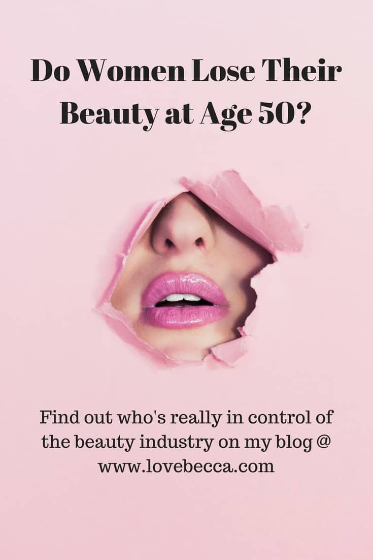Do Women Lose Their Beauty at Age 50?