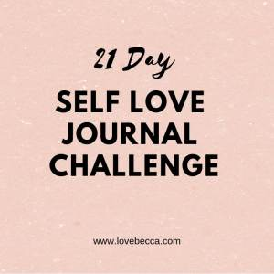 self love journal challenge