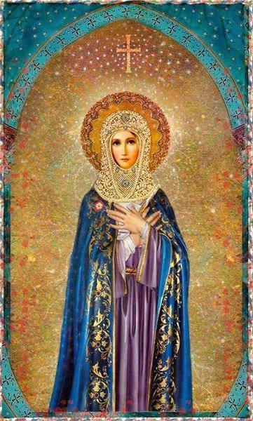 hail holy queen love