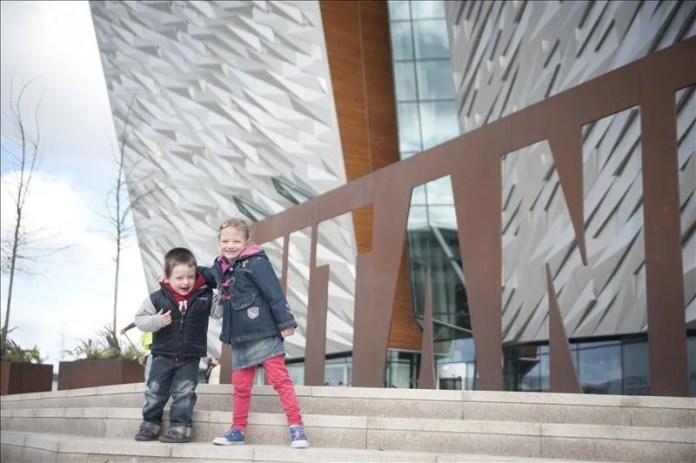 Family Day Out At Titanic Belfast