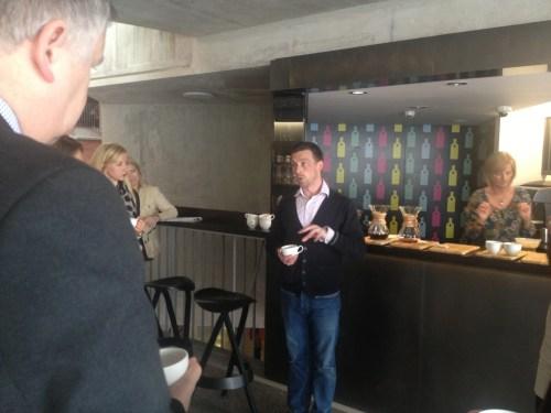 coffee expert James Shepherd