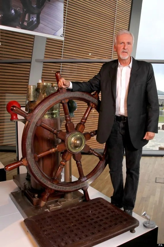 James Cameron visits Titanic Museum