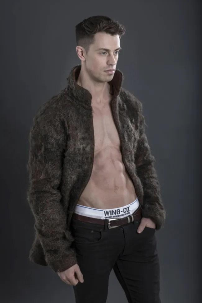 hair chest coat