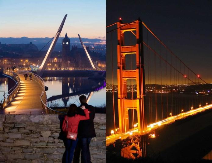 Peace Bridge - Golden Gate Bridge