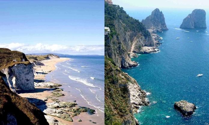 White Rocks Coast - Naples Coast