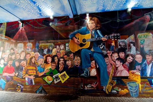 Van Morrison Mural