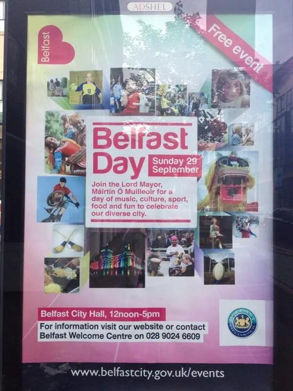 Belfast Day 29th September