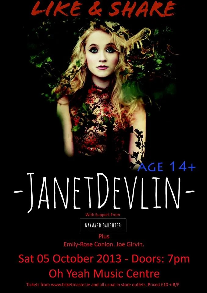 Janet Devlin Belfast