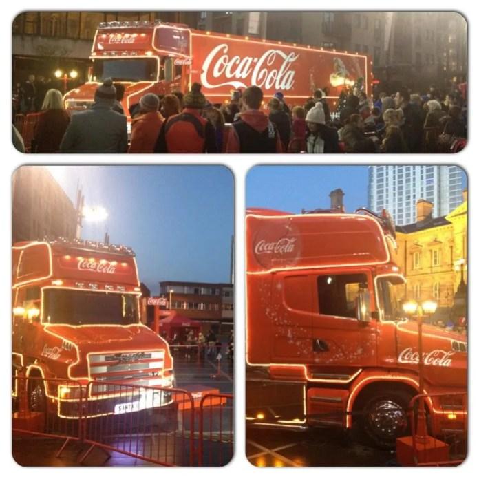 Coca Cola lorry Belfast