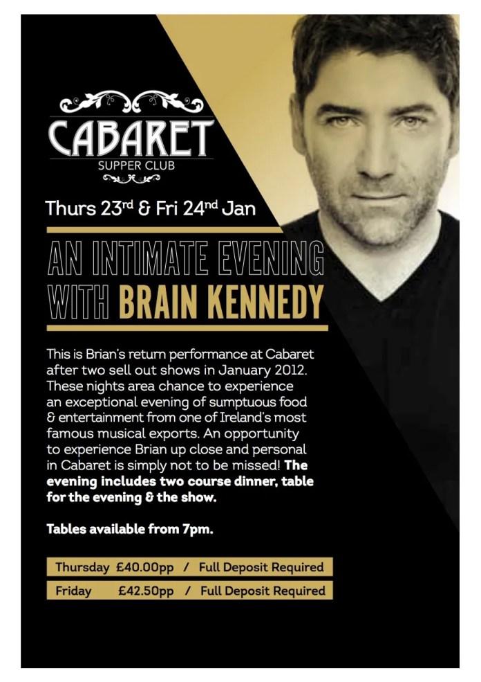 Brian Kennedy Belfast