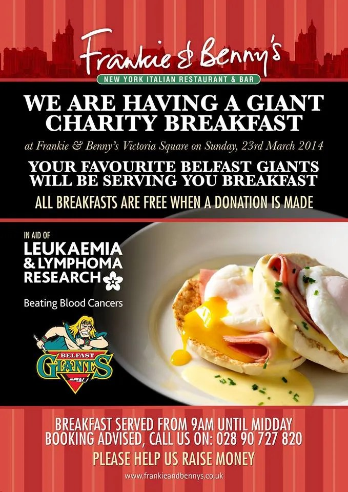 Belfast Giants Breakfast