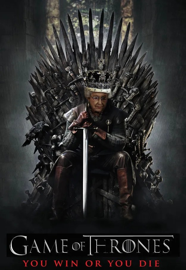 The Queen Vs Game Of Thrones Lovebelfast