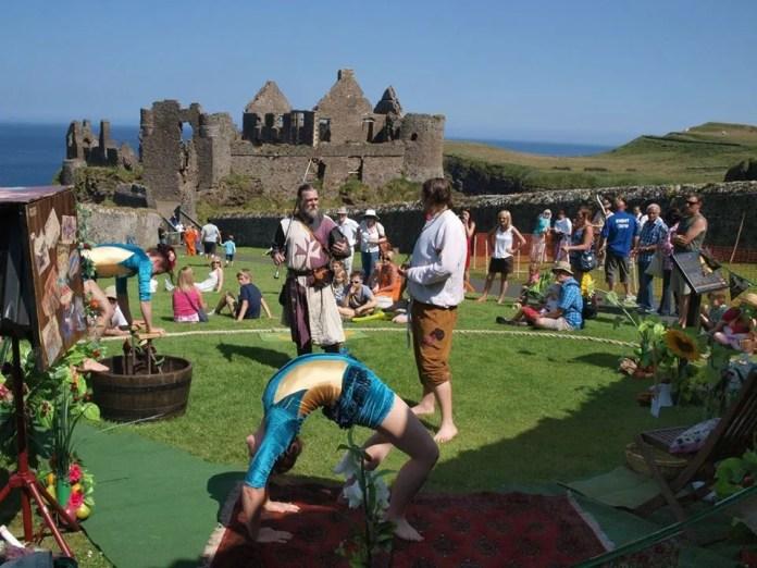 Dunluce Castle Family Event
