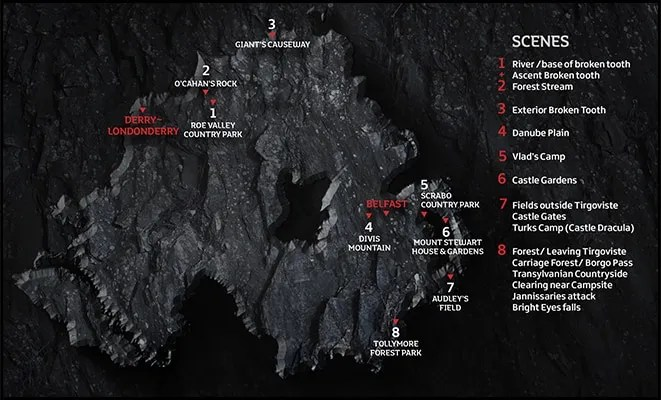 Dracula-Film-Location-Map2
