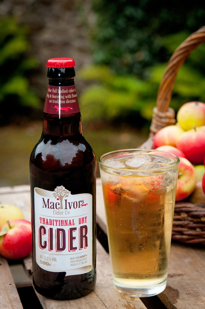 MacIvor cider. Credit Paul Canning